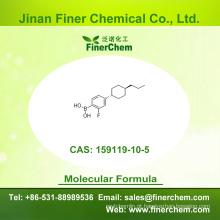 Cas 159119-10-5 | B- [2-Fluoro-4- (trans-4-propilciclo-hexil) fenil] | OLED intermediário | 159119-10-5 | preço de fábrica; Grande estoque