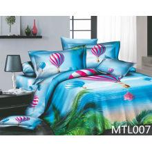 Özel baskılı pamuklu yatak örtüsü