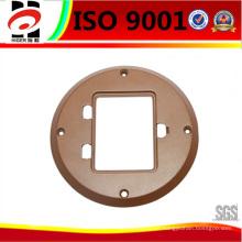 Base de interruptores de fundición a presión personalizada de aluminio
