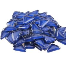 Vidro transparente azul cobalto para fabricação de mosaico