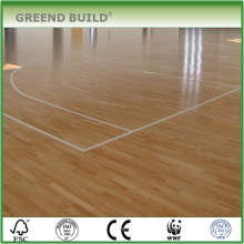 Canadian maple Hard wood basketball flooring