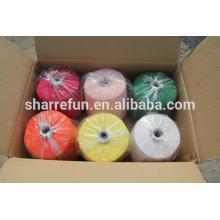 Китай хорошее ощупывание руки 55/45 шелк кашемир пряжа для вязания