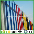 2016 GM high quality powder coated steel palisade fence