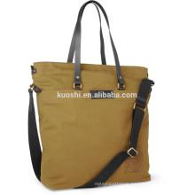 Promotional canvas shoulder bag