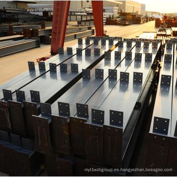 Edificio de estructura de acero prefabricado exportado a África y Australia