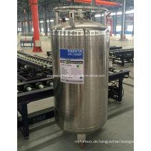 China 450L Flüssiger Sauerstoff / Stickstoff-Tieftemperaturzylinder