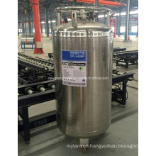 China 450L Liquid Oxygen/Nitrogen Cryogenic Cylinder