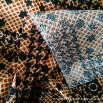 Burkina Faso Style Brushed Polyester Bedsheet Fabric