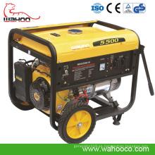 Generador de poder portátil de la gasolina / de la gasolina del CE 3kw para el uso en el hogar (WH5500)