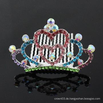 Prinzessin Krone Kamm für Mädchen Strass trendy Haare Zubehör