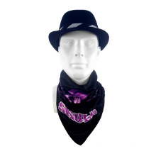 Promotion fashion multifunctional headwear seamless sport triangular bandana