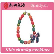 мода милый первоначального коренастый бисером детей ожерелье
