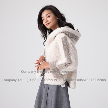 Winter Short Merino Lady Shearling Jacket