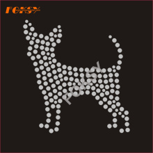 Strass coreano Hot Fix di design per cani