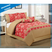 3 PCS Polyester Jacquard Duvet Cover (Set)