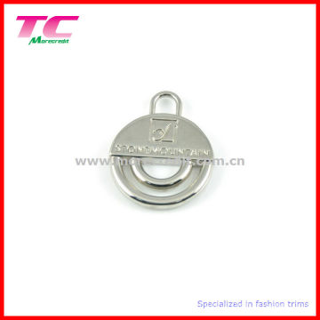 Wholesale Shiny Silver Zipper Puller for Bag