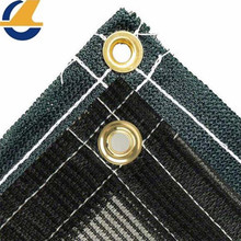Economy Knitted Mesh Tarp For Fence Screen