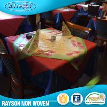 Toalha de mesa não tecida popular de Rayson PP