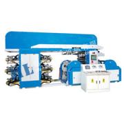 Máquina de impressão flexográfica de 6 cores de tipo de lâmina de doutor ML