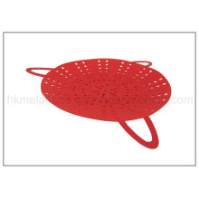 Silicone Food Steamer with Handle (RS04)
