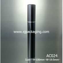 luxury young black mascara tube