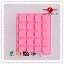 Small Check Silicone Mould for Plaster