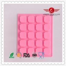 Verifique pequeno molde de silicone para gesso