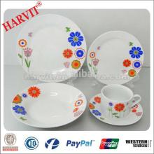Chine Nouveaux produits Ensemble de vaisselle en céramique Set de dîner en pierre / Vaisselle en bleu Faïence