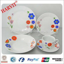 China New Products Ceramic Dinnerware Set/Stone Dinner Sets/Blue Dinnerware Earthenware