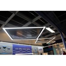 LED Linear Hängeleuchte für Open Office mit Dlc