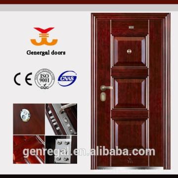 Economic Raised Panel Home Main metal door