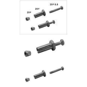 Chinese Supplier M8X14X90mm Hex Bolt Anchor Bolt Extension