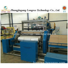 500-1500 3-5 Layers LLDPE Stretch Film Extrusion Line (3 extruders)