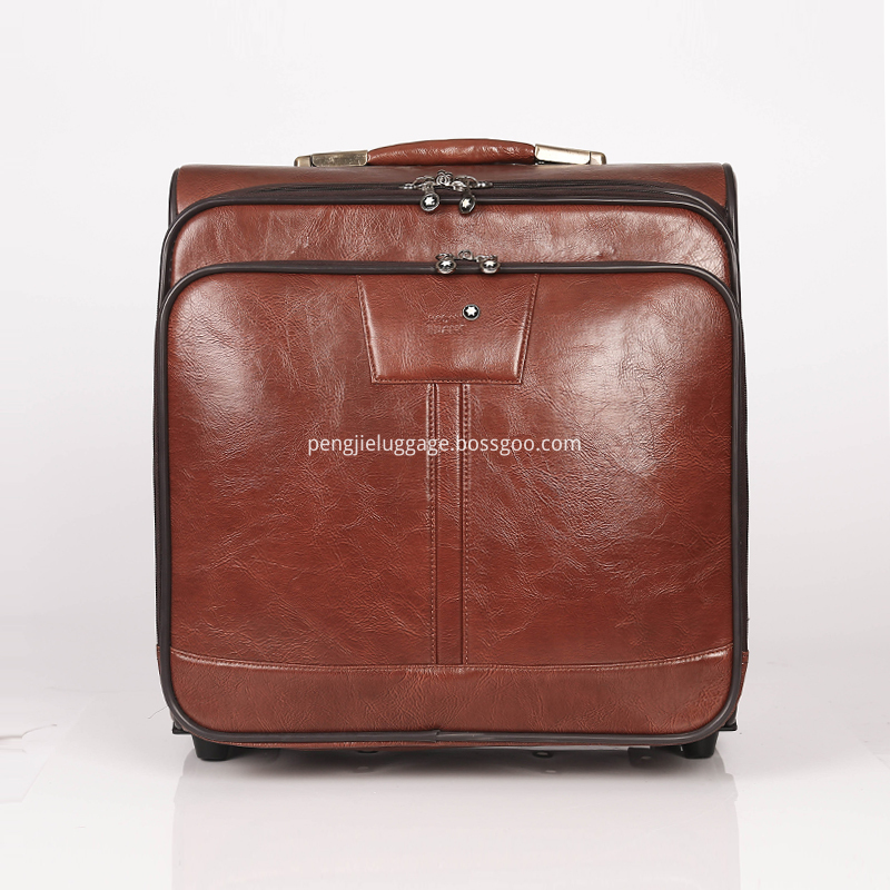 New development pu luggage