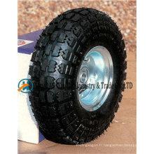 """Roues pneumatiques 10 """"X3.50-4 avec roue en caoutchouc"""