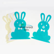 Rabbit diecut felt decoration sheet