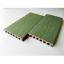 Green Color Decking Hollow Core Floor Capped Komposite WPC