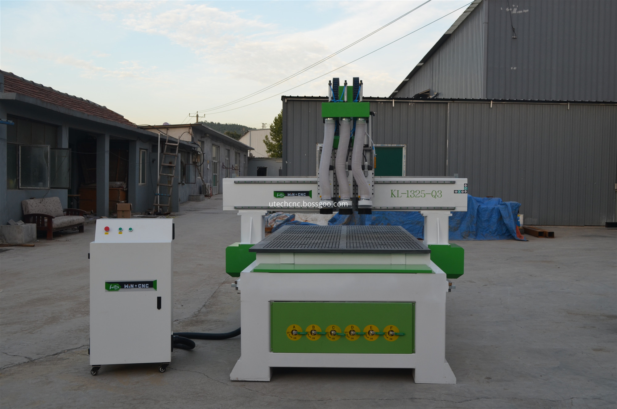 cnc router with nc studio control