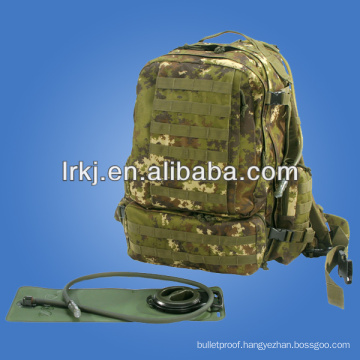 Large army camo water carrier backpack