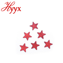 HYYX Новый Подгонянный Серебряный блеск пяти конечная Звезда несколько Звезда рождественские украшения