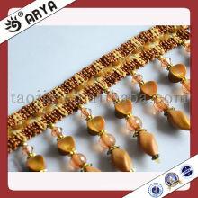 Gute Design Acryl Perlen Fransen Troddel für Vorhang