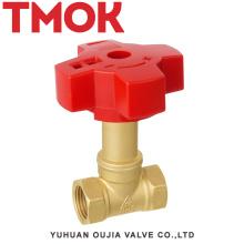 Ду15 латунный покрынный кром высокой точности запорный клапан