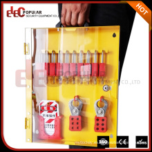 Elecpopular Import China Productos Seguridad Metal Lock Armario Lockout Tagout Estación Con Puerta