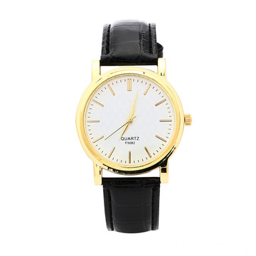 Fashion And Simplicity Leather Strap Quartz Watch(YeMinYing)