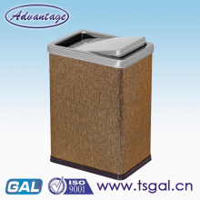 Slim home trash can