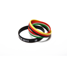 Pulseira de Silicone Cool colorida