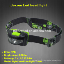 Jexree 800Lm 3 Modo impermeable Cree llevó faro