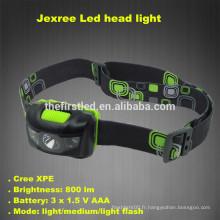 Jexree 800Lm 3 Mode Phare phare imperméable à l'eau