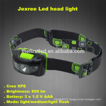 Jexree 800Lm 3 Mode Waterproof Cree led headlight