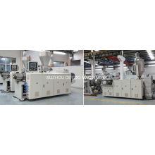 Ligne d'extrusion de machine d'extrudeuse de tuyau de PVC pp PE PPR